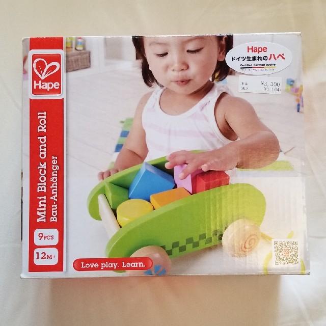 BorneLund(ボーネルンド)のHape ハペ ブロック キッズ/ベビー/マタニティのおもちゃ(積み木/ブロック)の商品写真