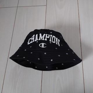 チャンピオン(Champion)の美品☆未使用☆Champion ハット 帽子 48 ゴム紐付き☆(帽子)