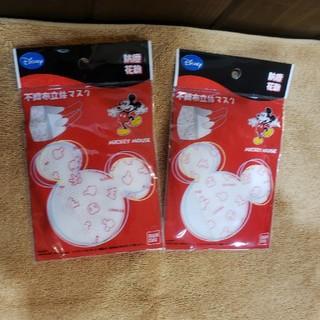 ディズニー(Disney)のミッキー 不織布立体マスク(日用品/生活雑貨)