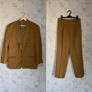 ジョンローレンスサリバン(JOHN LAWRENCE SULLIVAN)のセットアップ ブラウン 茶 古着 ヴィンテージ 80s 90s メンズ スーツ(セットアップ)