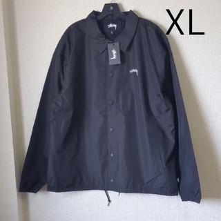 STUSSY - 新品 XL BK コーチジャケット ステューシー ブラック