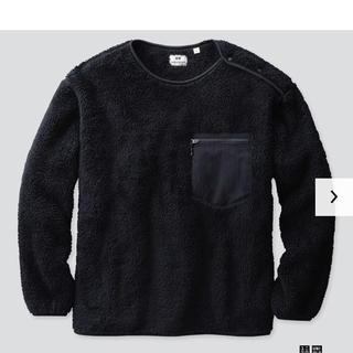 Engineered Garments - ユニクロ アンド エンジニアド ガーメンツ〉フリースプルオーバー
