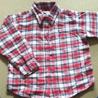 ラブラドールリトリーバー(Labrador Retriever)の110 ラブラドールリトリーバー チェック ネルシャツ 110(Tシャツ/カットソー)