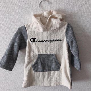 Champion - 裏起毛 ワンピース size 90