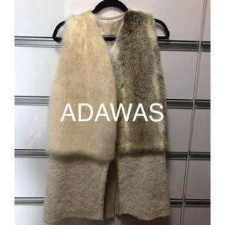 ADAWAS - ADAWAS エコファーニットベスト38