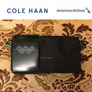 未使用 コールハーン トラベルバッグ アメリカン航空 ビジネスクラス アメニティ