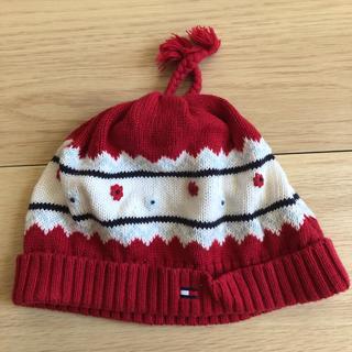 トミーヒルフィガー(TOMMY HILFIGER)の⭐︎トミーヒルフィガーベビー ニット帽⭐︎(帽子)
