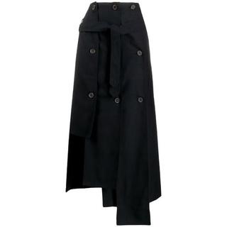 トゥモローランド(TOMORROWLAND)の試着のみ 20ss rokh アシメントリースカート(ひざ丈スカート)