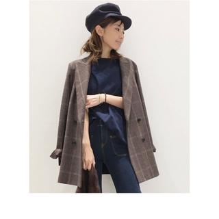 アパルトモンドゥーズィエムクラス(L'Appartement DEUXIEME CLASSE)のZanieri Long W Jacket(テーラードジャケット)