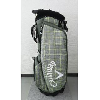 キャロウェイゴルフ(Callaway Golf)の未使用品 キャロウェイ スタンドキャディバッグ 9.5型 グリーン(バッグ)