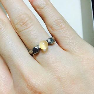 天使のリング ピンクストーン(リング(指輪))
