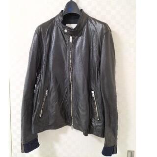 ハレ(HARE)のHARE レザージャケット ライダースジャケット ブラック M(ライダースジャケット)