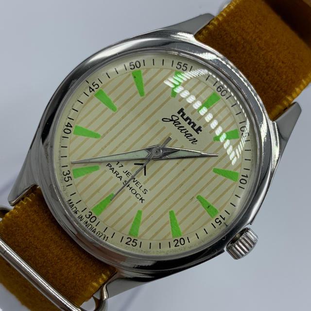 パテックフィリップ コピー 品質3年保証 - 激レア美品◆HMT jawan/70's/ヴィンテージ腕時計/手巻きウォッチの通販