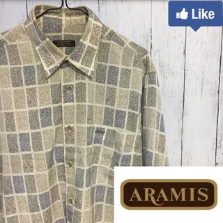 アラミス(Aramis)の【値下げ交渉可】アラミス ARAMIS メンズ 柄シャツ ポリシャツ(シャツ)