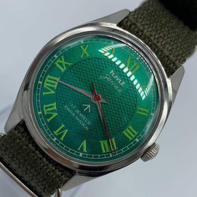 スーパー コピー ロレックス高品質 - 激レア美品◆HMT jawan/70's/ヴィンテージ腕時計/手巻きウォッチの通販