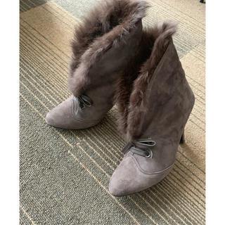 ダイアナ(DIANA)のDIANA  ダイアナファーブーツ(ブーツ)