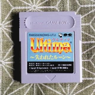 ゲームボーイ(ゲームボーイ)のウルティマ 失われたルーン1 2(家庭用ゲームソフト)