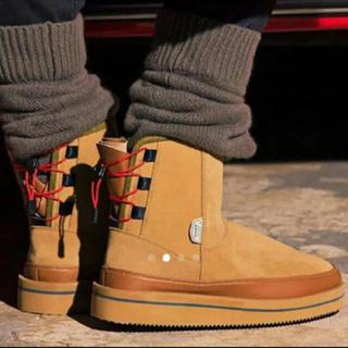 アパルトモンドゥーズィエムクラス(L'Appartement DEUXIEME CLASSE)の新品 SUICOKE バックレースアップショートブーツ 26cm(ブーツ)