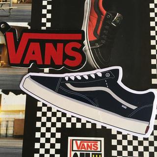 ヴァンズ(VANS)のVANSバンズUS限定ロゴshoeタグステッカーおまけ付き(スケートボード)