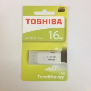 【509円で送料無料】日本製造 TOSHIBA 東芝 USB メモリ 16GB(PC周辺機器)