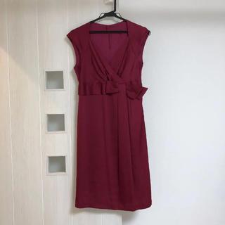 ストロベリーフィールズ(STRAWBERRY-FIELDS)のストロベリー ドレス(ミディアムドレス)