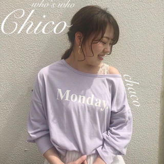 who's who Chico - 🍒 ¥4,212【Chico】5分袖ワンショル T  ロンT