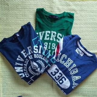 しまむら - メンズ M 長袖Tシャツ 3枚セット