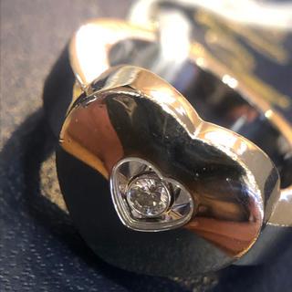 ショパール(Chopard)のショパールハート型リング 正規品(リング(指輪))