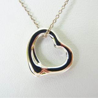 ティファニー(Tiffany & Co.)のティファニー 925 オープンハート ネックレス[g146-3](ネックレス)