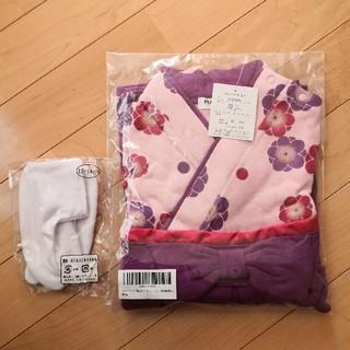 ◆新品未使用◆ベビー◆袴ロンパース◆(セレモニードレス/スーツ)
