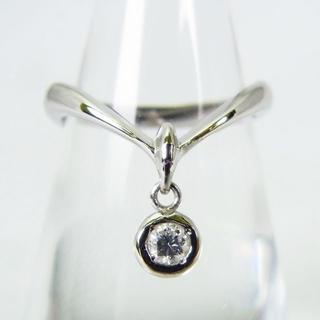 スタージュエリー(STAR JEWELRY)のスタージュエリー Pt900 ダイヤモンド リング 10号[g146-8](リング(指輪))