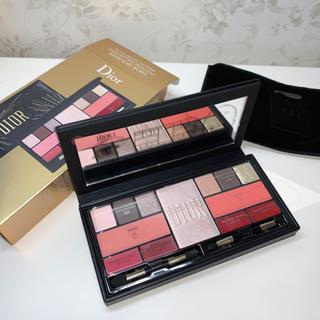 Christian Dior - 〈ほぼ新品〉Dior スパークリングマルチユースパレット クリスマスコフレ