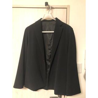 ステュディオス(STUDIOUS)のLui's オーバーサイズ テーラードジャケット ブラック(テーラードジャケット)