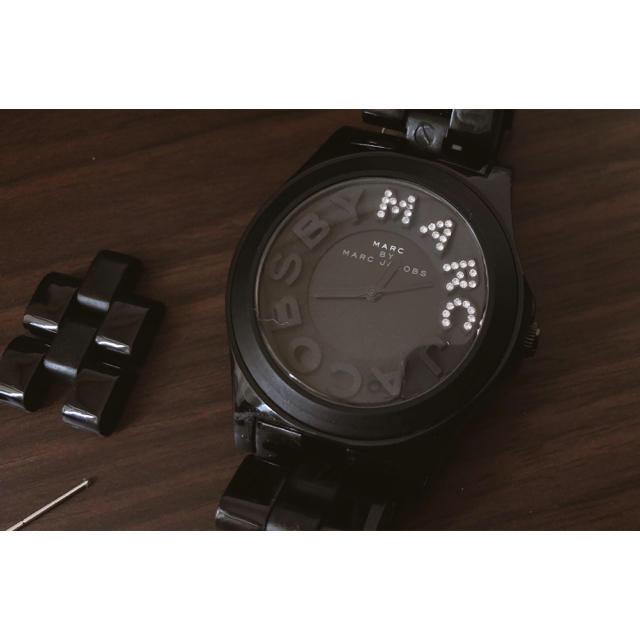ロジェデュブイ コピー 新品 / MARC JACOBS - 【専用出品】マークジェイコブス 時計 腕時計 レディース 黒 ラインストーンの通販