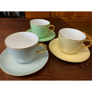 オクラ(OKURA)のカップ、ソーサー 中古(食器)