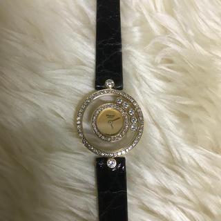ショパール(Chopard)のショパール ハッピーダイヤ 腕時計   レディース OH済み(腕時計)