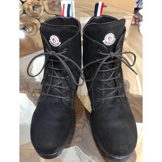 モンクレール(MONCLER)のモンクレール スエード ブーツ ダークブラウン 27cm    EU 43(ブーツ)