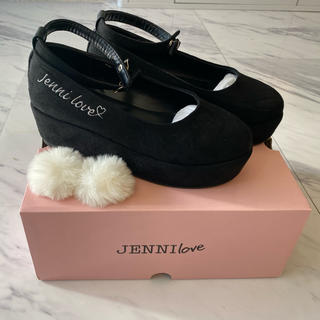 ジェニィ(JENNI)のJENNI LOVE アクセサリー付厚底ストラップパンプス(フォーマルシューズ)