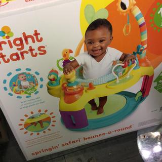 ベイビーザスターズシャインブライト(BABY,THE STARS SHINE BRIGHT)のBright Stars safari baby jumper (ベビージム)