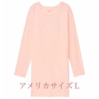 ヴィクトリアズシークレット(Victoria's Secret)のヴィクトリアシークレット長袖ロング丈オレンジ(Tシャツ(長袖/七分))