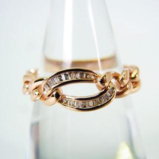 K18ピンクゴールド ダイヤモンド リング 12.5号 [g146-15](リング(指輪))