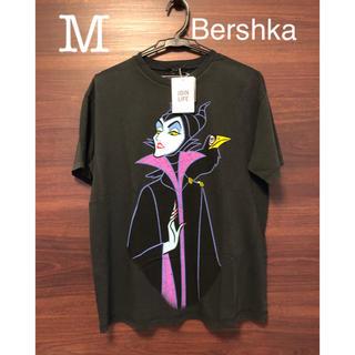 ベルシュカ(Bershka)の未使用タグ付 ベルシュカ 眠れる森の美女 マレフィセント Tシャツ ディズニー(Tシャツ(半袖/袖なし))