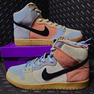 ナイキ(NIKE)のNIKE SB DUNK HIGH EASTER SPECTRUM(スニーカー)