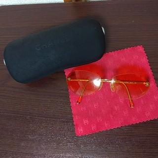シャネル(CHANEL)の専用です。 CHANEL サングラス オーバル型(サングラス/メガネ)