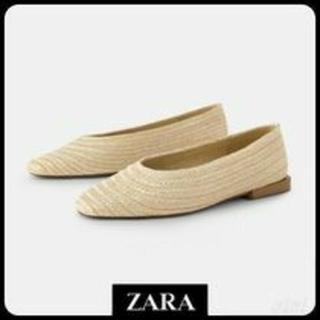 ZARA - 未使用❤️ZARA❤️ラフィア❤️36❤️人気・完売