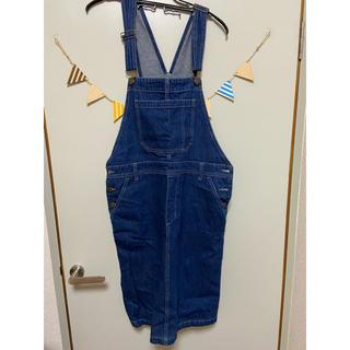 チャムス(CHUMS)のCHUMSのジャンパースカート(ひざ丈ワンピース)