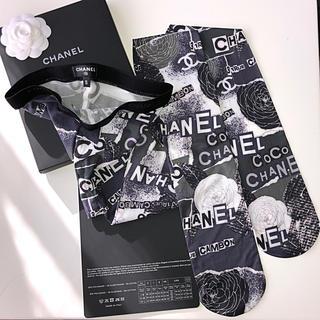 シャネル(CHANEL)の🖤シャネル🖤2020春夏プレコレクション新品未使用✨CCマークタイツ💕(タイツ/ストッキング)