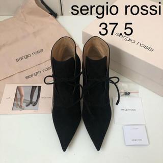 Sergio Rossi - 未使用 新品 裏張り済 ★ セルジオロッシ ショートブーツ 37.5