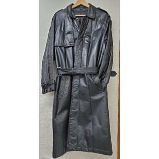 ヨウジヤマモト(Yohji Yamamoto)のDorop shoulder Leather coat(レザージャケット)