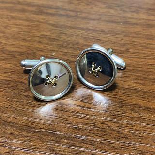 ティファニー(Tiffany & Co.)のティファニー k18 SV925 カフス(ネクタイピン)